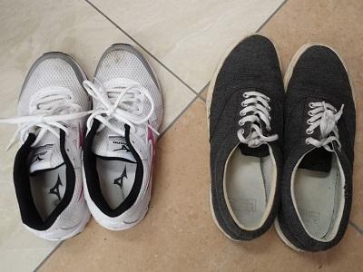 スニーカーの簡単な洗い方