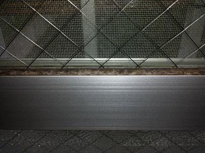 窓のカビ取り方法ゴムパッキン